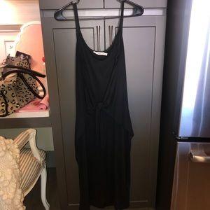Lush Tie Waist Cami Dress